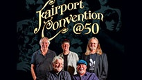 Plakat for koncerten Fairport Convention -  50 års jubilæumsturné!