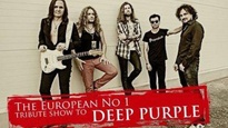 Plakat for koncerten Deep Purple Tribute: Purpendicular + Black Sabbath Tribute