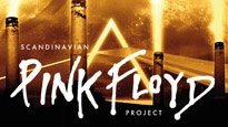 Plakat for koncerten Scandinavian Pink Floyd Project