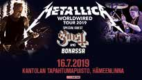 Metallica: WorldWired Tour - VIP-packages tickets  2019-07