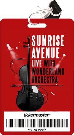 Sunrise Avenue Fanituotteet