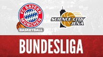 FC Bayern Basketball vs. Jena <br> Familientag Audi Dome / Basketball