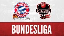 FC Bayern Basketball vs. Giessen 46ers <br> Familientag Audi Dome / Basketball