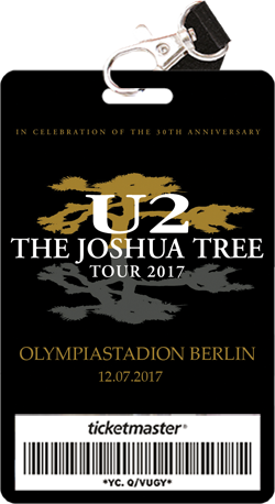 u2 tickets tour 2017 18 konzert informationen. Black Bedroom Furniture Sets. Home Design Ideas