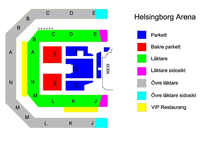 fest ledsagare tuttar i Helsingborg
