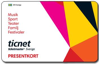 ticnet presentkort