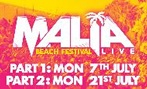 Malia Beach Live tickets