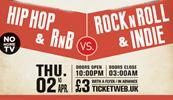 Indie & Rock N Roll vs Hip Hop & RnB