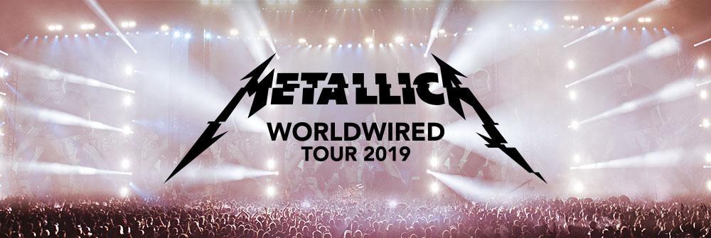 Metallica: worldwired tour 2019 - Ticketmaster