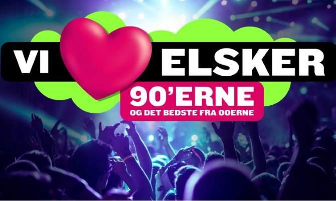 Kob Billetter Til Vi Elsker 90 Erne 2021 Odense Fest Drink Dance Billet 28 08 2021 Kongens Have I Odense C