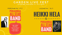 Garden Live Fest pe 17.7.