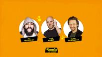 Komediafestivaali On The Road: Jahangiri, Kivelä, Johansson
