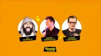 Komediafestivaali On The Road: Jahangiri, Saariluoma, Wickström