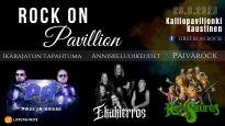ROCK ON PAVILION - Yhteislippu Hevisaurus ja Iltaohjelma