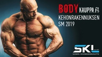 Bodykauppa.fi Kehonrakennuksen SM-kilpailut 2019