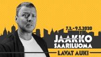 Jaakko Saariluoma - Lavat auki SIIRRETTY