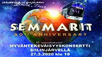 SEMMARIT 30th anniversary HYVÄNTEKEVÄISYYSKONSERTTI