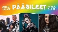 Oulu Pride pääbileet: Vesala x BESS x Diandra