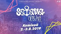 Satama Open Air 2 pvä-lippu / perjantai + lauantai 2.-3.8.2019