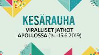 KESÄRAUHA-JATKOT, lauantai