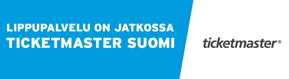 Lippupalvelu on jatkossa Ticketmaster Suomi 71da0f804c