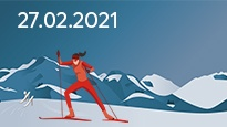 FIS Nordic WSC 2021 - Cross Country 27.02.2021 | Tagesticket