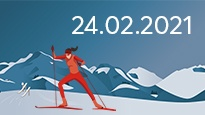 FIS Nordic World Ski Championships 2021 - Cross Country 24.02.