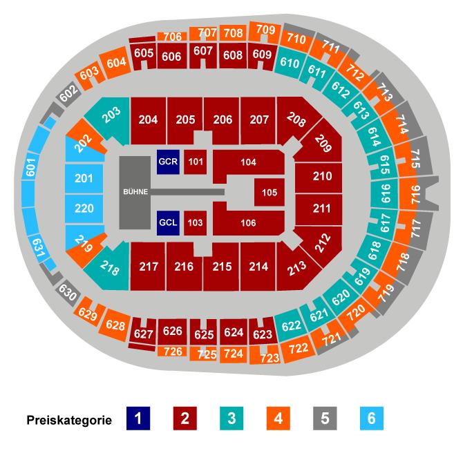 Harry Styles |  Premium Seat VIP Seating Plan at Lanxess Arena