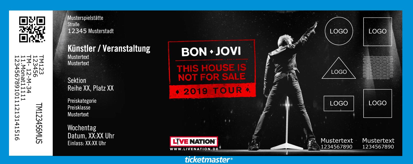 Bon Jovi Tickets München 05072019