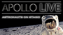 VIP - Apollo Live - Astronauts on stage! VIP - First Class Ticket