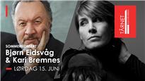 Bjørn Eidsvåg og Kari Bremnes – Sommerkonsert på Tårnet Live