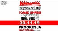 Kobranocka, Sztywny Pal Azji, Tomek Lipiński z Zespołem, Róże Europy