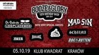 10.urodziny Booze & Glory + Dr.Rude, Mad Sin, Skankan, Analogs i inni