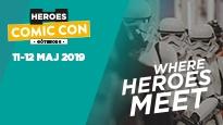 Comic Con Göteborg 2019   Weekendbiljett 11-12 maj
