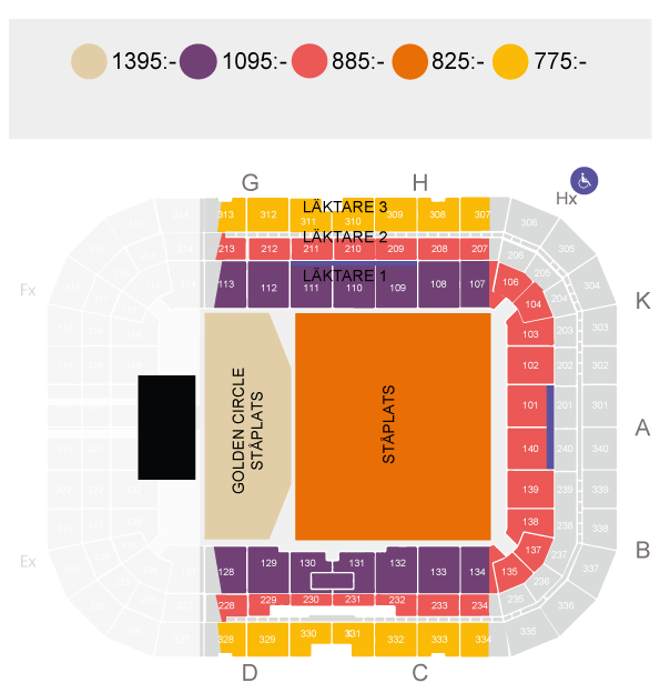 Eminem Tickets | 2018-07-02 | Friends Arena | STOCKHOLM