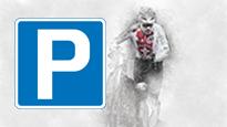 UCI Radquer-Weltmeisterschaften 2020 - Sonntag   Parkplatz