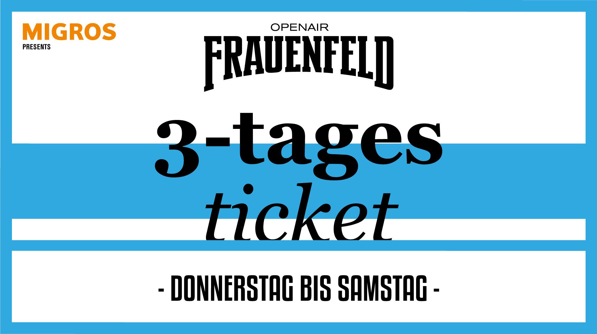 frauenfeld tickets 2019