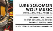 A Disco Space Odyssey NYE: Luke Solomon & Wolf Alice